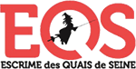 Club d'escrime Paris Quais de Seine Logo